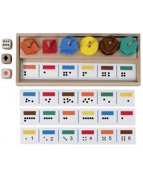 Mistr v třídění - barvy, tvary, počty