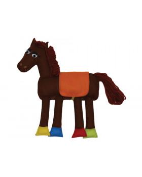 Textilní vystřihovánka - Kůň