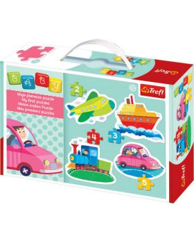 Baby puzzle - Dopravní prostředky