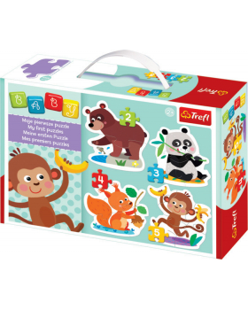 Baby puzzle - Čím se živí zvířátka