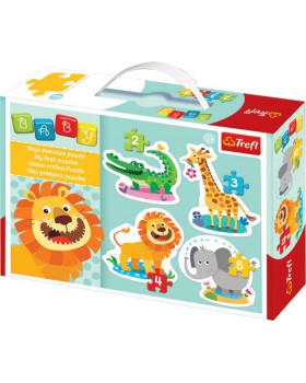 Baby puzzle - Zvířatka ze safari