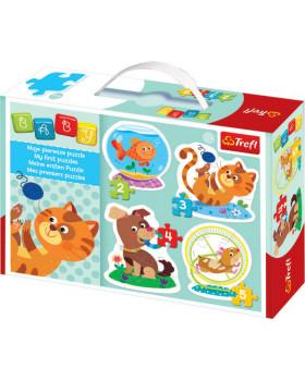 Baby puzzle - - Domácí mazlíčci