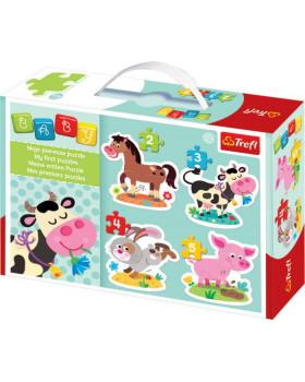 Baby puzzle - Zvířátka z farmy