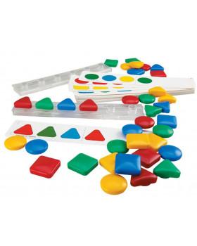 Logická hra - Barvy a Tvary
