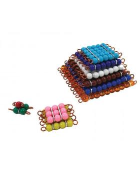 Korálkové čtverce (barevné)
