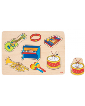 Zvukové puzzle - Hudební nástroje