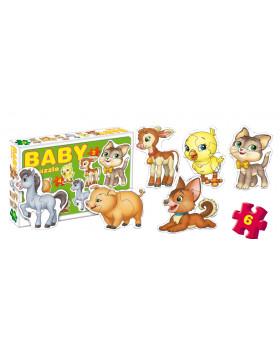 BABY Puzzle - Domácí zvířátka