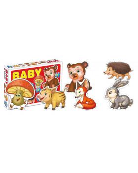 BABY Puzzle - Divoké zvíŕátka