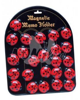 Pochvalné magnetky - Berušky