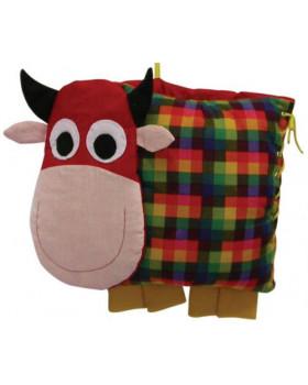 Zapínací polštářky - Kráva