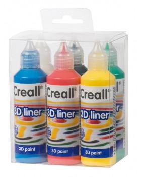 3D Barvy tvůrčí 6x80 ml