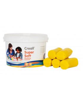 Creall - ultra jemná modelovací hmota - žlutá