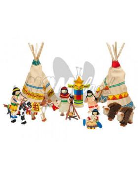 Indiánska osada
