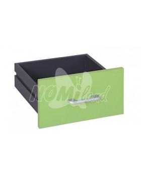 Zásuvky úzké Funny - 2 ks - světle zelená