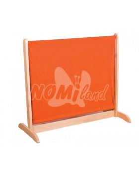 Paraván nízky - oranžový