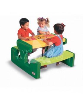 Piknikový stůl zelený
