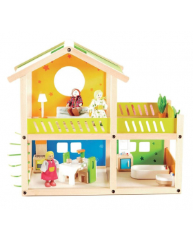 Domeček s terasou