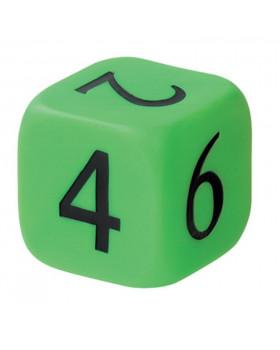 Velká plastová kostka s čísly
