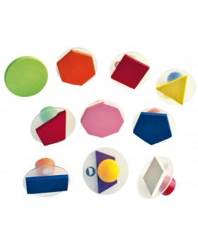 Razítka - Geometrické tvary, plné