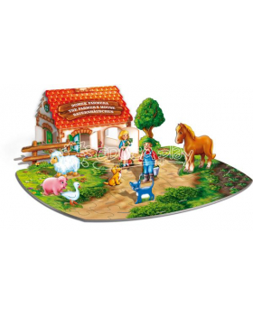 3D puzzle - Na farmě