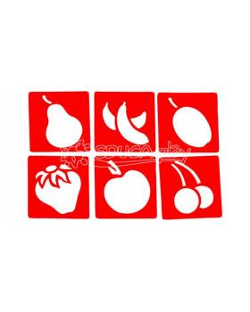 Šablony - Ovoce