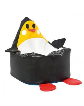 Molitanové kresielko - Černý tučňák