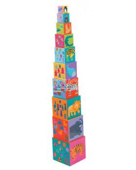 Postav si věž - Zvířátka na žebříku
