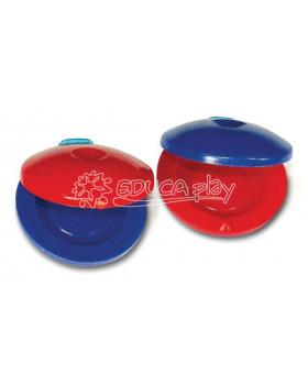 Plastové prstové kastaněty