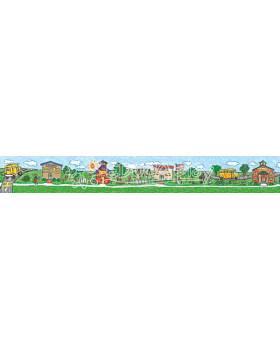 Dekorační pásky - Školní den