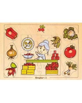 Puzzle Ovoce - zelenina