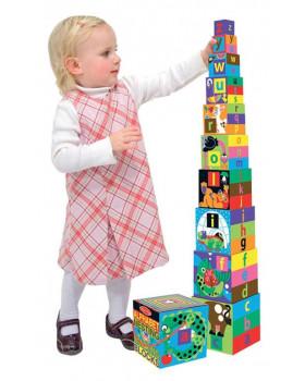 Dřevěná věž - Abeceda