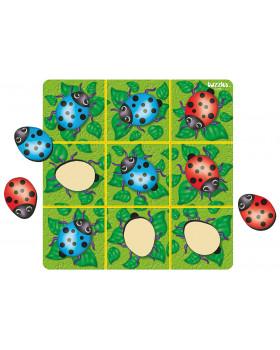 Hra s beruškami