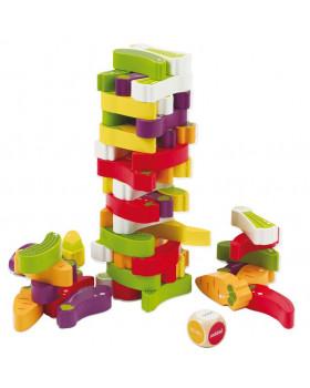 Věž plná zeleniny