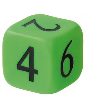 Plastová kostka - čísla