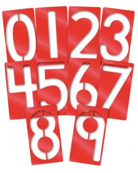 Šablony - Čísla
