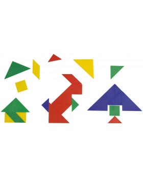 Magnetický tangram - 3 sady