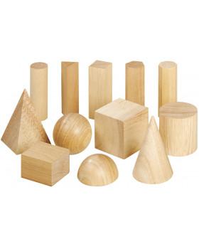 Dřevěné geometrické tvary