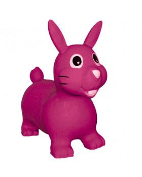 Nafukovací zvířátko - růžový zajíc