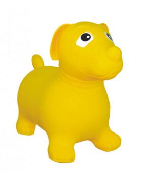 Nafukovací zvířátko - žlutý pejsek