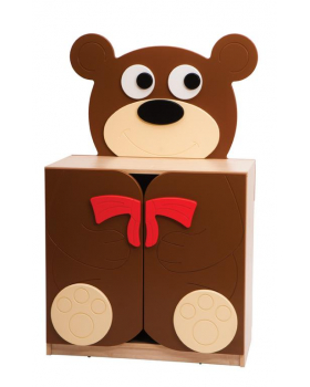 Skříňka Medvídek s mašličkou