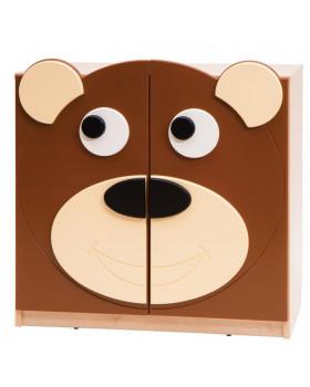 Skříňka Medvídek