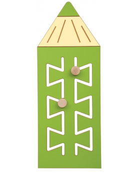 Nástěnný labyrint Barvička - zelená