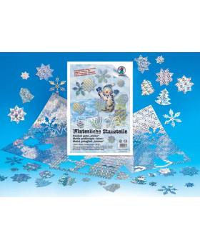 Vysekané stříbrné části – Zima