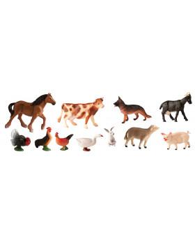bb325eed79d09 Figurki zwierząt - Zwierzęta farmerskie - 11 szt.