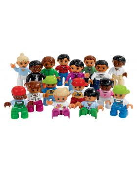 LEGO Duplo - Figurki narody