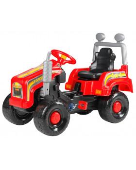 Traktor MEGA - czerwony