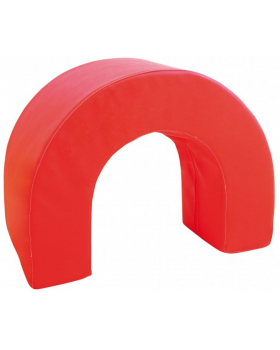 Tunel łuk- czerwony