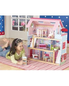 Plne vybavený domček pre bábiky
