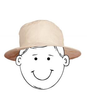 Prírodný bezfarebný klobúčik