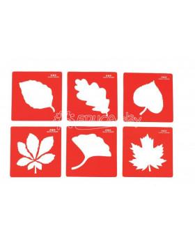Šablóny – Listy stromov